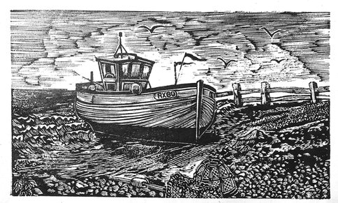 wood engraving by lyn may (2017)