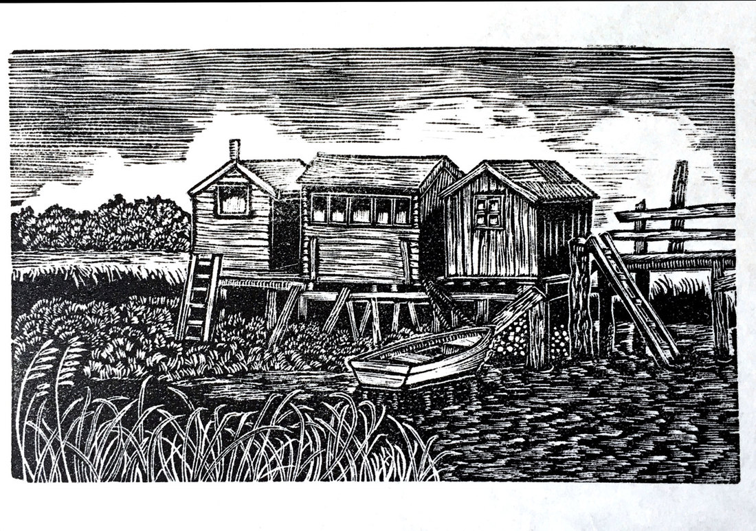 wood engraving by lyn may 2017